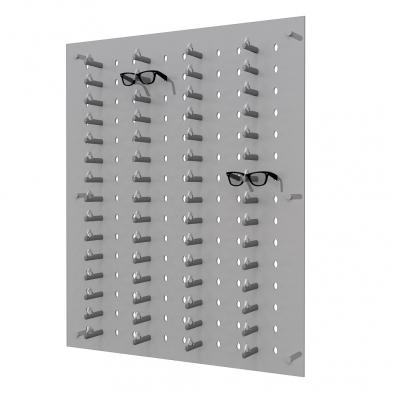 acrylic eyewear display, locking eyewear display, locking frame display