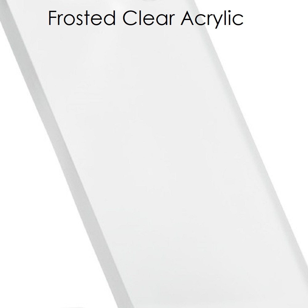 """Acrylic Ice Cube with Sentry Locking Pegs- Tall (78.75""""L)"""