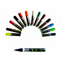 7 Colours Paint Marker Set 15mm Wedge BOM