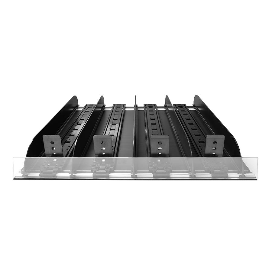 "Product Pusher Freezer Kit 4 Facing 22""D x 30""W Clear"