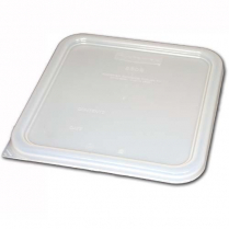 Polycarbonate Lid for Square Food Container 8.75x8.8x.25