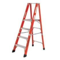 Fibreglass Enclosed 3 Step Plus Platform Ladder