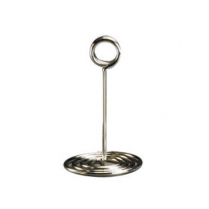 Chrome Plated Swirl Base Stand 6""