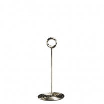 Chrome Plated Swirl Base Stand 8""