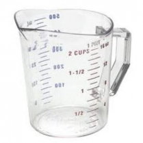Polycarbonate Measuring Cup 1 Pint 5.25 x 5.25 x 4.75