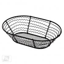 Iron Oval Basket 9 x 6 x 2