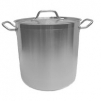 Induction Capable Stock Pot 16qt with Cover