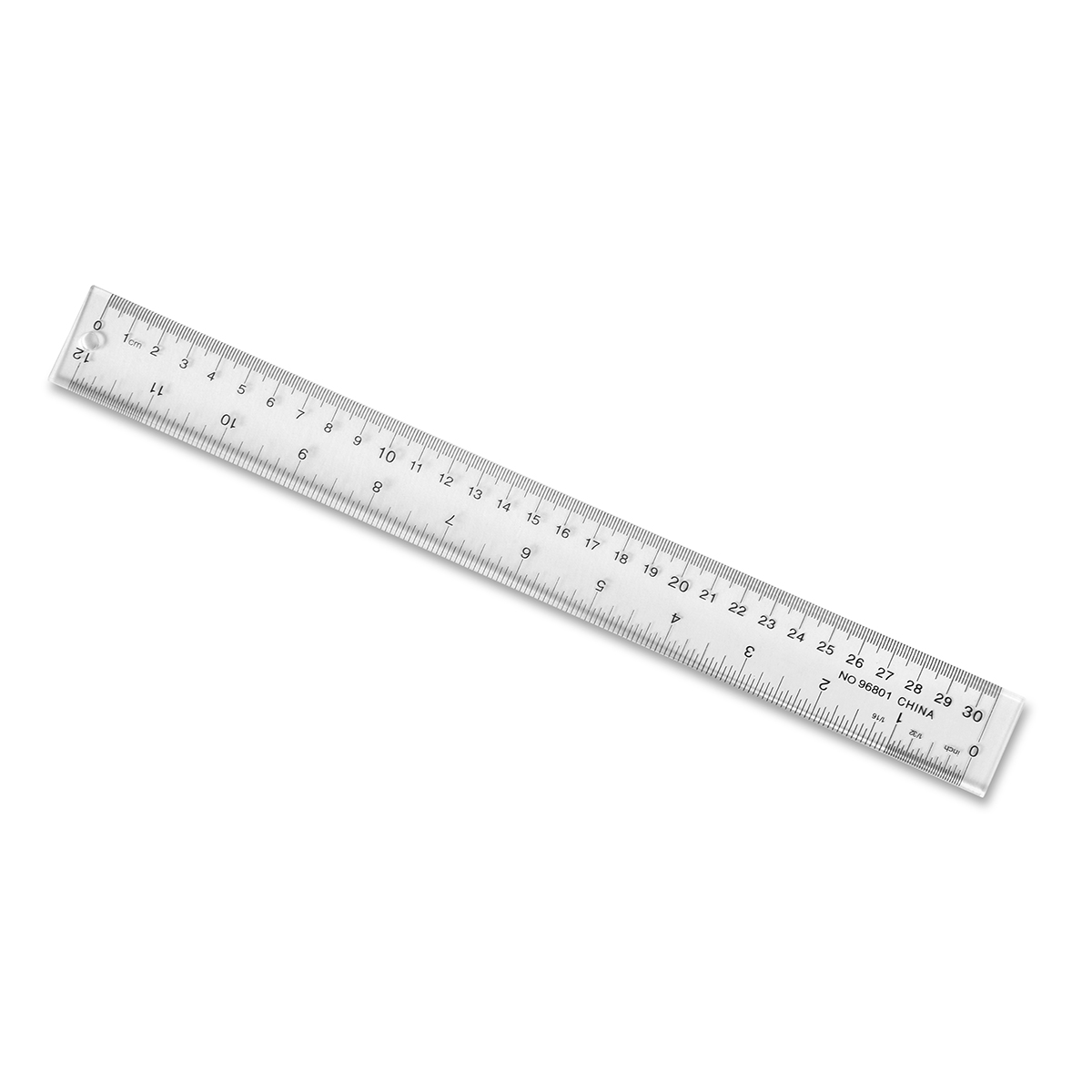 Plastic Ruler 12 CM & Inches Clear - Product Details