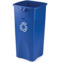 Untouchable Recyling Container Blue