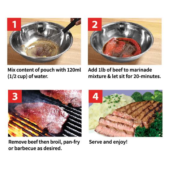 20min Beef Marinade 25g x 50