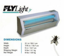 Safety Fly Light Unit w/coated Bulb Complete