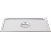 Half Size Long Steam Pan Lid SS