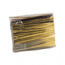 Gold Metallic Twist Ties 1000/Pk