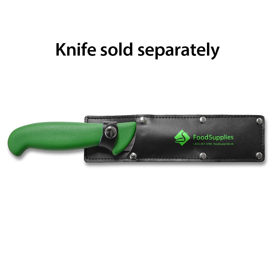 Leather Produce Knife Holder