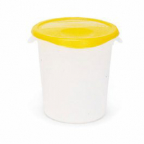 Round Polycarbonate Food Container With Lid 22Qt BOM