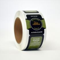 Label - Herb Garden Stuffing 250/Roll