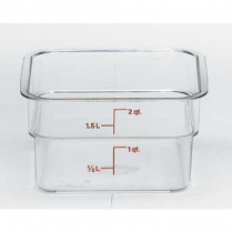Container 2qt Clear