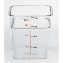 Container 4qt Clear