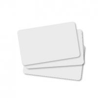 Edikio Cards - White PVC 30Mil 5 packs of 100 Cards