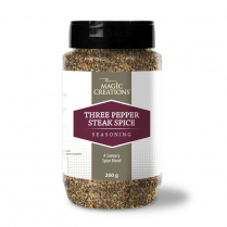 Three Pepper Steak Spice Kosher 260g
