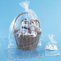 Clear Shrink Dome for Jumbo Basket 50/Pack
