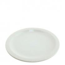 """China Plate 9.5"""" White"""