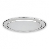 Stainless Steel Oval Platter 18