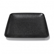 "ABS Tray 7"" x 7"" Black"