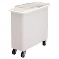 Flat Top Storage Bin 27 Gallon White