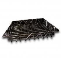 Chrome Wire Basket 12 x 12 x 2