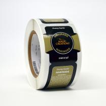 Label - Honey Garlic Marinade Phosphate Free 250/Roll