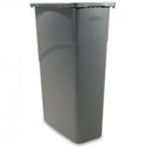 Slim Jim Waste Container Grey