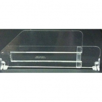 Acrylic Adjustable Divider Clear 10