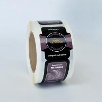 Label - Peppercorn Marinade 250/Roll