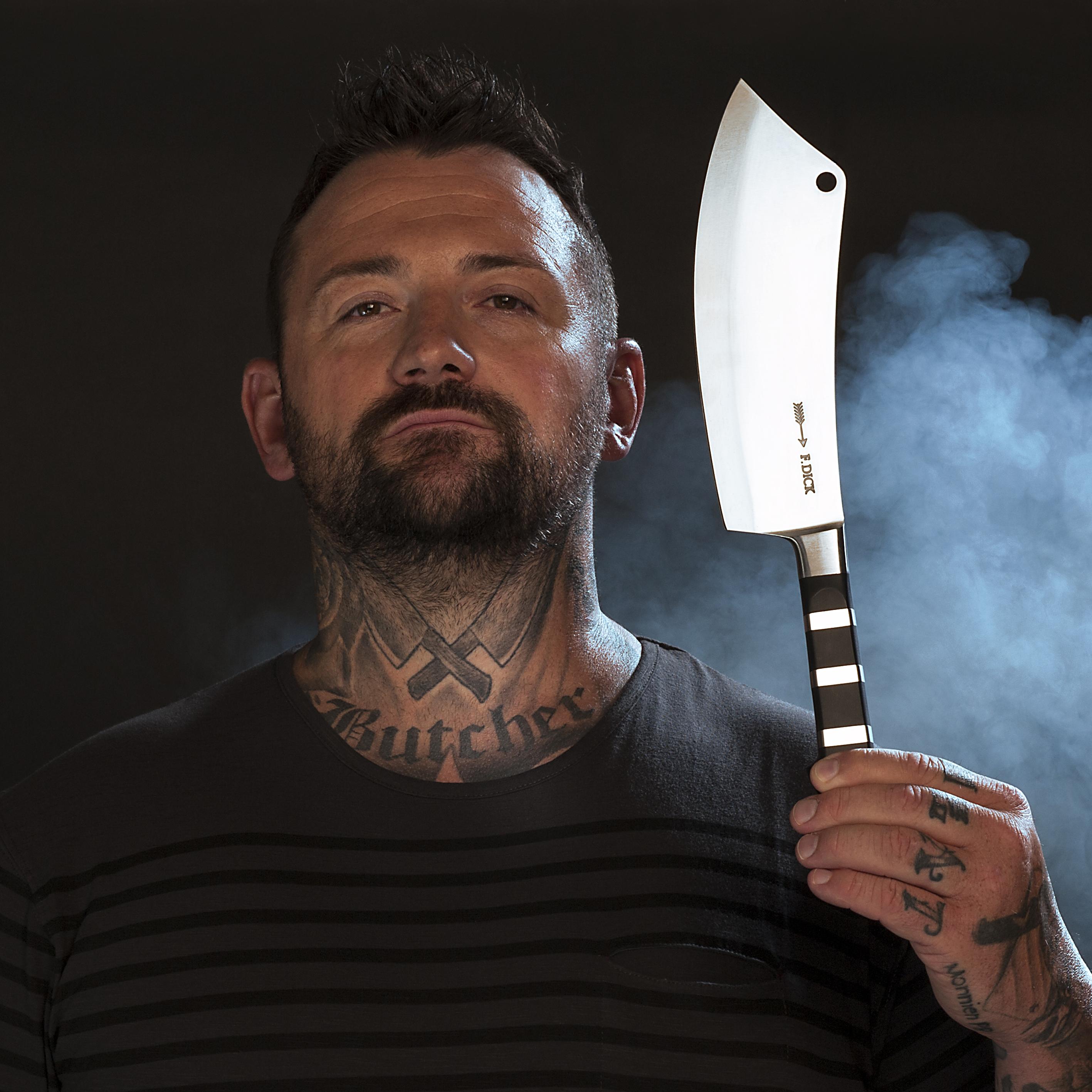 """F.Dick 1905 Chef Knife """"Ajax"""" Black 8.5"""""""