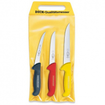 Knife Set of 3 ErgoGrip Sticking, Boning Wide & Boning Curve