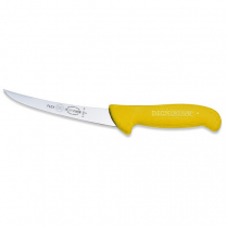 F.Dick Boning Knife (Curved Flexible) ErgoGrip Yellow 6