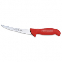 Boning Knife (Curved Semi Flex) ErgoGrip Red 6