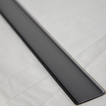 "Channel Strips RAL 9005 31mm 48"" Black"