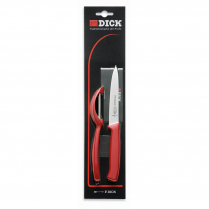 F.Dick ProDynamic Knife Set with Peeler Red