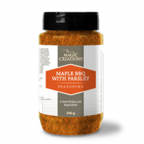 Maple BBQ Seasoning With Parsley 340g