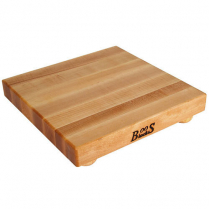 Maple Cutting Board With Feet 12