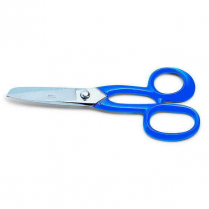 F.Dick Fin Shears (Nickel Plated) Blue 8""