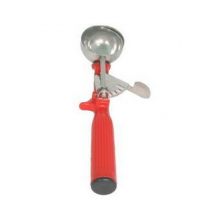 Disher Scoop # 24 1 1/3oz Red