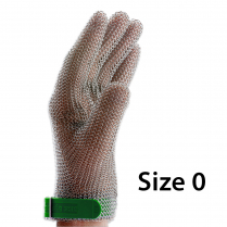 F.Dick Metal Mesh Gloves Size 0, 5 fingers, left/right ErgoP