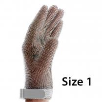 F.Dick Metal Mesh Gloves Size 1, 5 fingers, left/right ErgoP