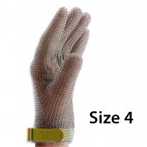 F.Dick Metal Mesh Gloves Size 4, 5 fingers, left/right ErgoP
