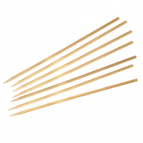 "Birch Skewers 6"" 3.8mm Thick (1,000 Units)"