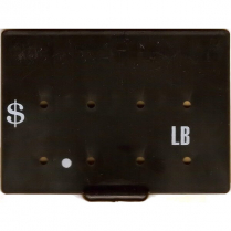 Price Tag DM $/lb Black
