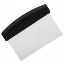 Dough Pan Block Scraper Stainless Steel Blade